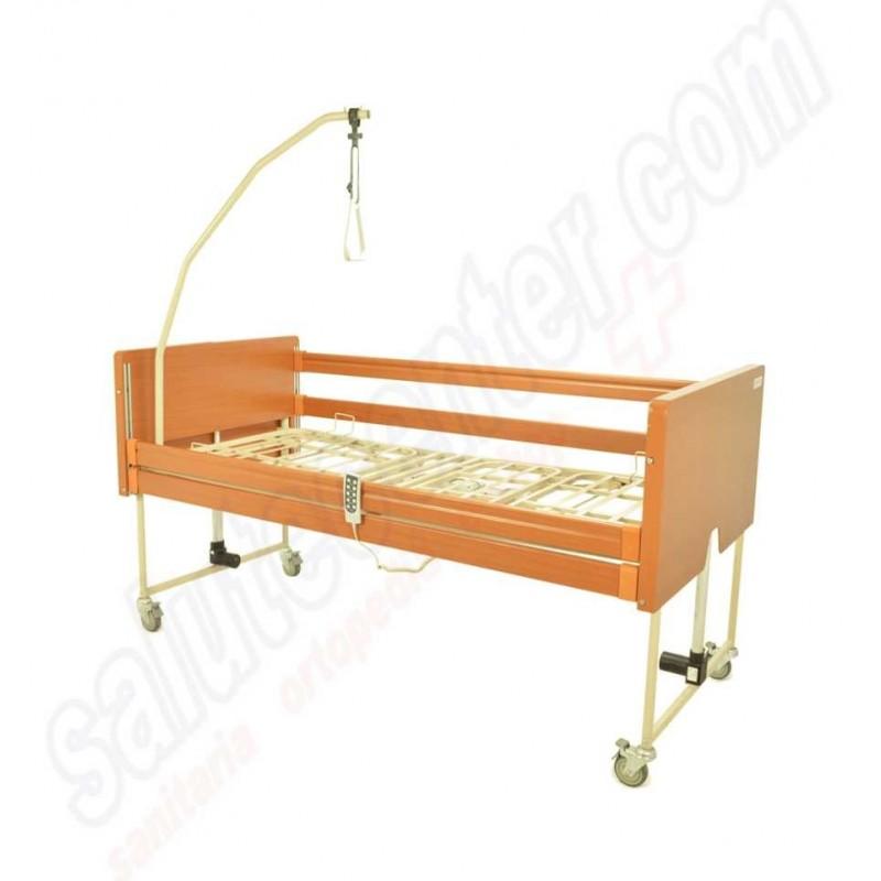 Bongo letto ospedaliero motorizzato con sponde e alza malato 90 - Letto ortopedico con sponde ...